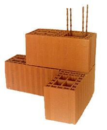 Muro de 18 mamposter a portante de ladrillos cer micos - Ladrillo ceramico hueco ...
